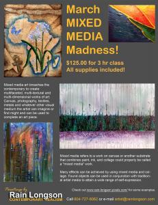 March Mixed Media Madness